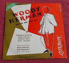 "WOODY HERMAN AND THE NEW THIRD HERD 25 CM 10"" ORIG FR"
