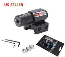 NEW Tactical Red Laser Beam Dot Sight Scope For Gun Rail Pistol Weaver US
