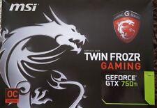MSI NVIDIA GeForce GTX 750 Ti (2048 MB) (n 750 titf 2GD5OC tarjeta gráfica)