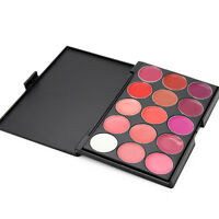 15 Farben Lippenstifte Lipgloss Lipstick Lippen Palette Kosmetik Makeup-Set