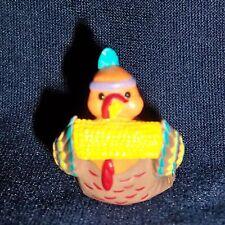 Hallmark Merry Miniature 1993 Indian Turkey eating Corn
