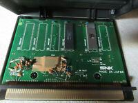 black case  PUZZLE BOBBLE   taito label   mvs neo geo cartridge arcade game
