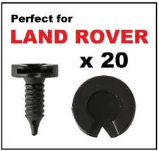 20 x LAND ROVER DISCOVERY FREELANDER RANGE ROVER P38 Door Panel Trim Clips