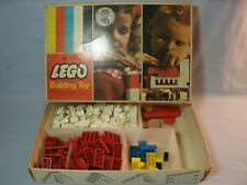 VINTAGE LEGO BUILDING TOY MODEL #205 QUALITY PRODUCT OF SAMSONITE 160+ Pieces