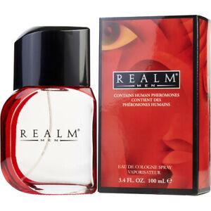 Men Realm By Realm 3.4 oz Eau De Cologne Spray New in Sealed Box