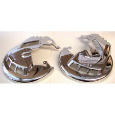 Chrome Rotor Covers Mount Over Front Brake Rotors For Honda Goldwing GL1800