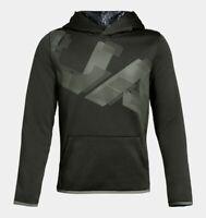 New Under Armour Boys Fleece Printed Hoodie Choose Size MSRP $40.00