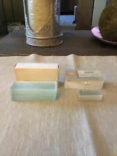 Vintage Blank Microscope Slides & Scientific Products Cover Glass Slips 22*40 mm
