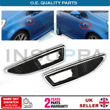 SIDE INDICATOR REPEATER SURROUNDS SET FOR OPEL VAUXHALL ZAFIRA A B VXR 13250944