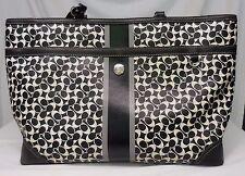 COACH CHELSEA HERITAGE Diaper Bag Baby Bag Multifunction Tote F15134 SIGNATURE C