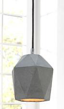 Hängelampe Pendellampe B-TONG PRISMA Beton grau Industrie Design Lampe Leuchte