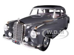 1955 MERCEDES BENZ 300 DARK GRAY 1/18 DIECAST MODEL CAR BY NOREV 183591