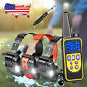 New Electric Dog Pet Training Shock Collar Stop Bark Trainer LCD Remote 880 Yard