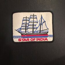 VINTAGE PATCH NEW IN PACKAGE STAR OF INDIA