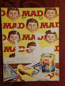RARE MAD magazine January 1972 Summer of '42 MACYS Thanksgiving Day Parade