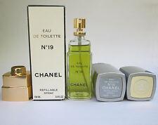Vintage Chanel No 19 Eau de Toilette EDT Spray 100 ml / 3.4 oz New