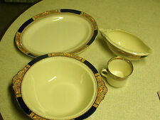 J & G MEAKIN QUEEN MARY PATTERN PARTIAL SET DISHES