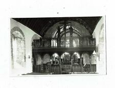 CORNISH POST CARD REAL PHOTO 19372 CRANTOCK CHURCH