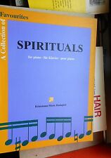 A collection of favourites Spirituals for piano/Klavier Könemann Music 1995