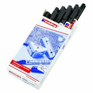 Edding 8404 Aerospace Marker Pens, BAE Approved, Fade Proof Water Proof