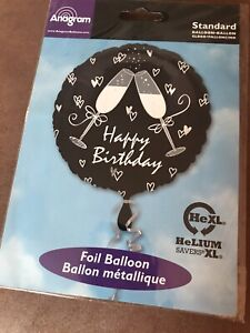 "BRAND NEW HAPPY BIRTHDAY 17"" FOIL BALLOON!"