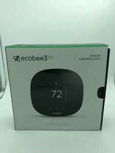 Ecobee3 LITE smart thermostat compatible with mobile phones box opened not used