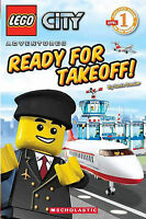 (Good)-Lego City Adventures: Ready for Takeoff! (Scholastic Reader - Level 1 (Qu