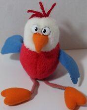 Gund ROCKET POP CHICKEN Bird Bean Filled STUFFED PLUSH ANIMAL Dangly Legs 5268