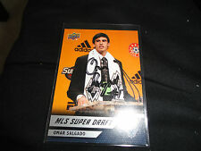 Vancouver Whitecaps Omar Salgado Rookie Autographed Signed 2011 UD MLS Card