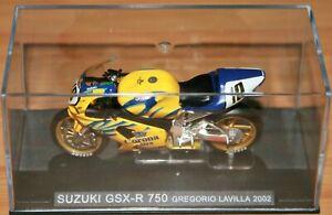 GREGORIO LAVILLA SUZUKI GSXR750  2002 1:24 IXO Motorbike - Rare