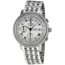 Tissot Bridgeport Chronograph Stainless Steel Mens Watch T0454271103300