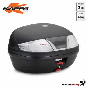 Top case arrière Kappa K46NT Tech Monolock 46 litre ABS avec argent reflector