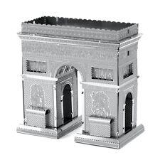 Fascinations Metal Earth 3D Laser Cut Steel Puzzle Model Kit Arc de Triomphe