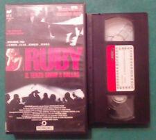 VHS FILM Ita Thriller RUBY Il Terzo Uomo A Dallas JFK aiello ex nolo no dvd(VH73