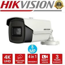 HIKVISION 4K 8MP Bullet Camera 2.8MM EXIR 60M 4in1 Video IP67 DS-2CE16U1T-IT3F
