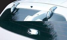 For Hyundai Santa Fe 2001 - 2006 Chrome Rear Window Trim Set (3 piece set)