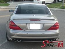 Painted 723 Pewter AMG Trunk Spoiler Wing For 2004-2011 SL350 SL500 SL55 SL63
