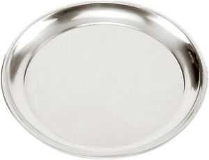 Norpro 13.5 Inch Pizza Pan - Stainless Steel