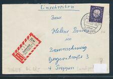 55983) AKZ-RZ Galberlah über Gifhorn + PGZ-K2, Reco-Brief 1962