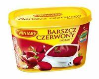 Winiary Barszcz Czerwony Instant Red Borscht Beet Soup 170g Tub Free Shipping!