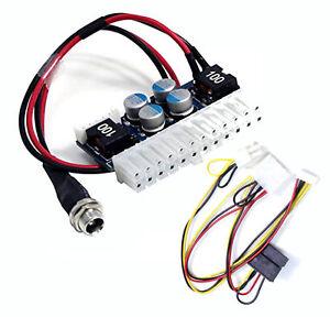DC 12V 160W Pico ATX switch PSU Car Auto MINI ITX ATX Power Supply 24pin DC-ATX