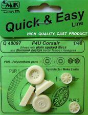 CMK 1/48 F4U Corsair Wheels # Q48097