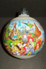 Magic Kingdom Christmas Ornament Walt Disney World Collectible Glass Ball