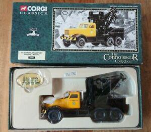 Corgi 55605 Blackpool Transport Diamond T Wrecker Ltd Edition No.0004 NEW
