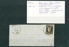À VOS OFFRES ! [125] CERES devant de lettre timbre n°3 2 janvier 1849 Ecouché