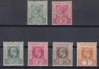 C2758/ BRITISH CAYMAN – SG # 1 / 4 – 6 / 7 MINT MH – CV 185 $