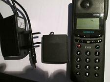 Siemens E 10 D schwarz nur für D1 Telekom + D 2 Vodafon super ok gebr Art Nr. 1E