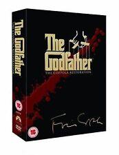 The Godfather Trilogy [5 DVD] Marlon Brando, Al Pacino, James Caan NEW Box Set