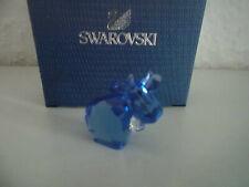 Swarovski figura lovlots mini mo en azul, personaje de vidrio