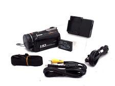 ARCSOFT TOTAL MEDIA HDCAM, 1080i, 5.0MP CMOS PIXEL, OPTICAL 20X ZOOM, DVH-5KI